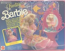 Barbie Fantasy anno 1990  vanity and throne