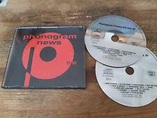 CD VA Phonogram News 11/91 2CD (25 Song) Promo PHONOGRAM MERCURY jc