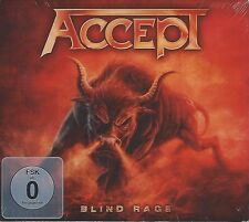 ACCEPT / BLIND RAGE - LIMITED EDITION * NEW CD+DVD 2014 * NEU *