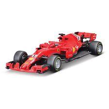 Bburago 1 43 Ferrari F1 2018 Saison Vettel Sf18-t Métal Moulé Modèle