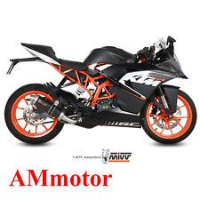 Impianto Completo Mivv Ktm Rc 125 2014 14 Scarico Gp Carbonio Moto