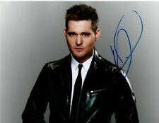 Michael Buble Signed 10x8 Photo AFTAL OnlineCOA (d)