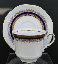 "Porzellan Mokkatasse Mitterteich Bavaria Germany "" Blau - Gold "" !!! Nr. C 63"