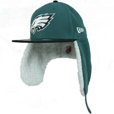 NFL Philadelphia Eagles New Era 59Fifty Fitted Hat Size 6 7/8 Dog Ear Cap 5950
