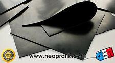Feuille de caoutchouc NITRILE NBR (résiste à certains hydrocarbures)