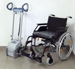 Scalamobil / Treppensteiger S30IQ alber + neuer Rollstuhl Dietz *Akku neu* SB 45