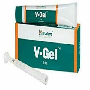 1 Pack x 30 GM Himalaya Herbal V-GEL Tubes Ayurvedic OTC Product - Free Ship