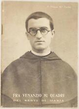 FILIPPO FERRINI FRA VENANZIO QUADRI SERVI DI MARIA VADO DI SETTA BOLOGNA 1939