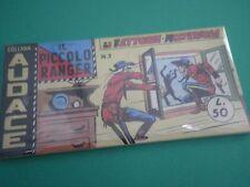 Collana AUDACE il Piccolo Ranger Striscia Fumetto  Anastatica  3°serie N 3 CU