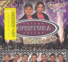 Chicos Aventura 5 Aniversario en Vivo CD+DVD New Nuevo Sealed