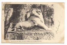 le lion de belfort  ( oeuvre de bartholdi )