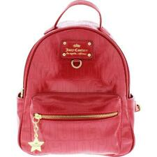Juicy Couture Womens Ever After Red Patent Mini Backpack Purse Small BHFO 6089