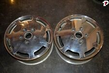 Porsche 944 Turbo OEM Wheels Pair Polished 16x7 ET65 Rims 38298 PH1