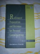 Radiowave Propagation and Antennas for Personal Communications 1998 Hardcover