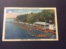 Skooter U-Drive Boats Lenape Park Postcard Mays Landing, New Jersey