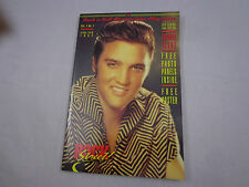 ELVIS PRESLEY cover ROCK n ROLL MEMORABILIA MAGAZINE nO.1-W/ TRADING CARDS
