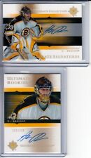 2005-06 Ultimate Collection Hannu Toivonen 2 x RC Auto LOT