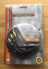 Monster Cable MV2P-4M  Video 2 Antennenkabel, 4 m