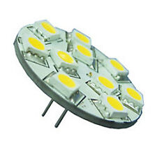 10-30v Cool White 10 LED 2.0W Rear Pin G4 Replacement Bulb.