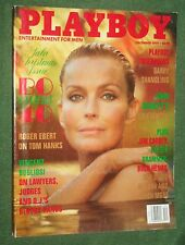 Playboy Dec 1994 POM Elisa Bridges  Tom Hanks Bo Derek Garry Shandling interview