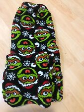 Sesame Street Oscar the Grouch Black Mens Pajama Pants S