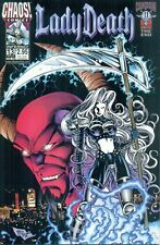 Lady Death #13 By David Quinn & Mike Deodato Jr Pulido Inferno Chaos! NM/M 1999