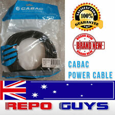 10 X CABAC Extension Cord Cable  Mains Power Lead IEC Male - Female BRAND NEW