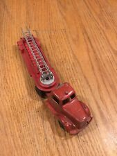 Vintage 1956-1960 Tootsietoy Mack L-line hook and ladder fire truck