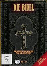 LA BIBLIA - Die Santo Fuente aparición Libro El libros + audiolibro DVD CD BOX