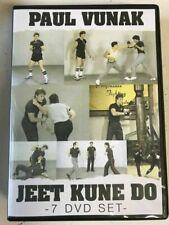 New listing Jeet Kune Do (7) Dvd Set, by Paul Vunak