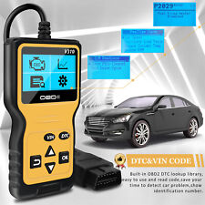 Automotive Universal Car Code Reader OBD2 Scanner Diagnostic Engine Fault Tool