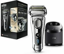 Braun 9295CC Series 9 Wet & Dry Mens Electric Shaver W/ Charging Station - New