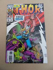 Thor 466 . Trading Card Insert / Drax App .Marvel 1993 . FN