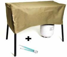 RunTo Heavy-Duty Patio Cover Fits Camp Chef 2 Burners Stove OSD-60LW, EX-60, CC-