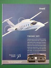 10/2005 PUB PIAGGIO AERO AVANTI II P.180 ITALIAN AIRCRAFT COLLINS AVIONICS AD