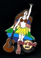 HARD ROCK CAFE HONOLULU Hawaiian Superwoman 2012. COOL Pin. P.5*