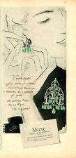 1946 Shreve, Crump & Low Company PRINT AD features: Earrings Great Decor ART
