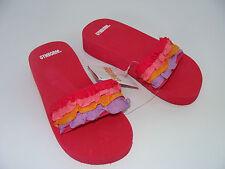 Gymboree Pretty Posies Girls Flip Flops Sandals Size 9-10 NEW