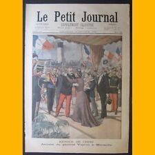 LE PETIT JOURNAL Supplément illustré 13 octobre 1901