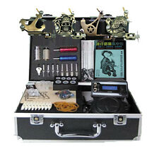 Star Tattoo Kits 4 Machine Guns Complete Tattoos Equipment Set Supply