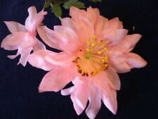 Vintage Millinery Flower Hat Dahlia Np4 Medium Pink