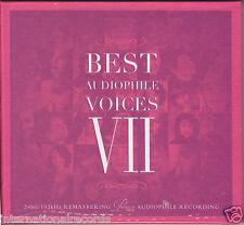 Best Audiophile Voices Vol.7 VII 24bit/192kHz Remastering CD Premium Records New