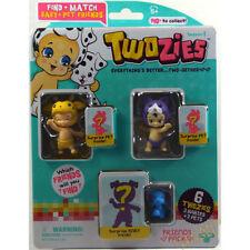 Twozies amici Pack (3 Bambini & 3 animali domestici) Inc. Tintinnio & Milli UK venditore 5 anni +