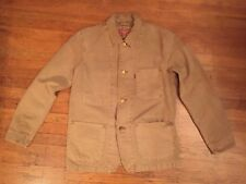 New Sample Levis Denim Chore Work Jacket Size M Coat LVC Mustard Button 30s