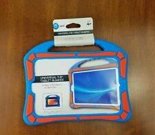 """Onn Kid-Safe Universal 7""""- 8"""" Tablet Bumper with handle New Blue and Orange"""