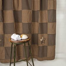 VHC Brands 6699 Farmhouse Star Shower Curtain 72x72