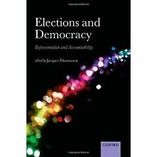 Elections and Democracy Jacques Thomassen Hardback New Book Free UK Delivery