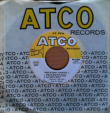 JOHNNY MILTON & HIS BAND - SING A SONG COCKTAIL - ATCO 45
