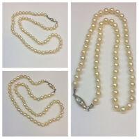 Perlenkette 333 er Goldschließe AKOYA Perlen mit Verschluss