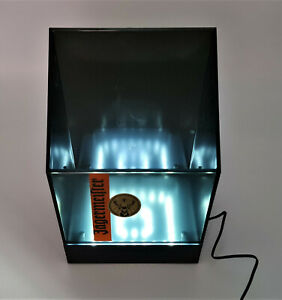 Jägermeister LED Flaschenkühler beleuchtet Eisbox Transparent Neu Design(7338-1)